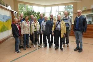Unsere Besuchergruppe in der Ölmühle