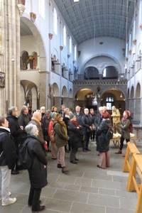 Unsere Gruppe in der Basilika St. Ursula