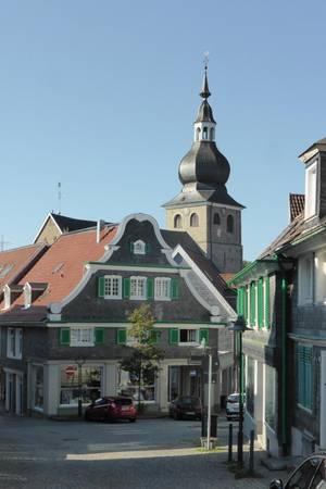 Stadtansicht von Remscheid-Lennep