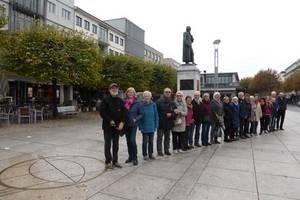 Auf dem 50. Breitenkreis nördl. Breite in Mainz
