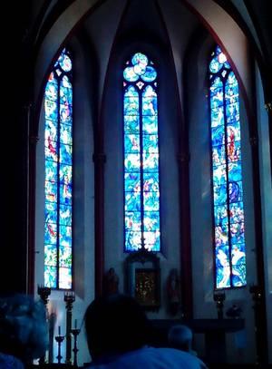 Chagall-Fenster in St. Stephanus, Mainz