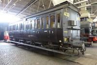 Personenwagen mit Abteilen der 3. Klasse