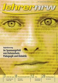 Titelseite der lehrer nrw-Verbandszeitschrift, Ausgabe 6-2020