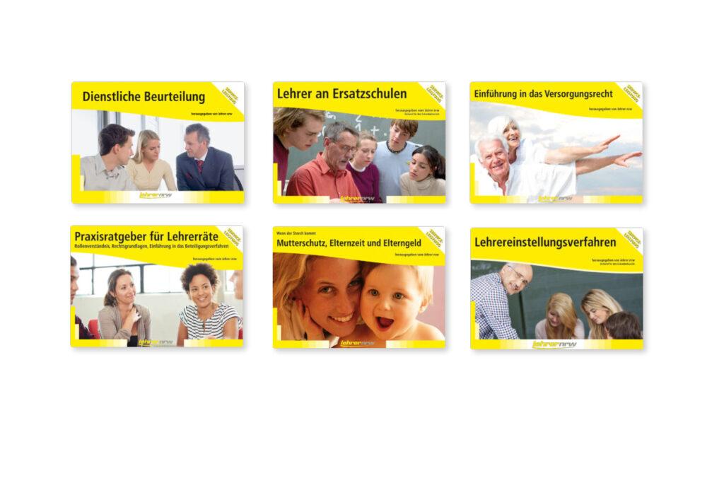 Auszug unserer veröffentlichten Broschüren